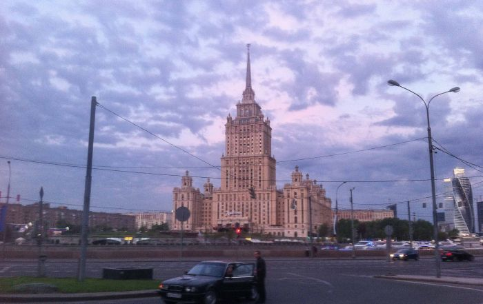 Mosca Radisson Royal Hotel Ucraina Sette Sorelle